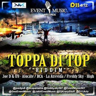 TOPPA DI TOP RIDDIM EVENTO MUSIC